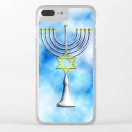 Menorah Clear iPhone Case