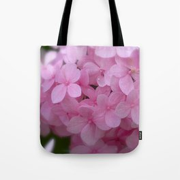 Pink Hydrangea - Flower Photography Tote Bag