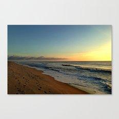 Walks Before Dawn Canvas Print