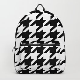 Classic Houndstooth Pattern Backpack