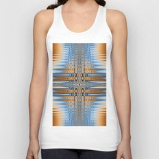 Abstract stained glass  Unisex Tank Top