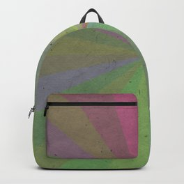 Radial Stripes - Earthy Colors Backpack