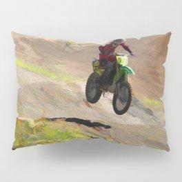 Motocross Moguls Pillow Sham