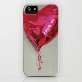 Magenta Balloon iPhone Case
