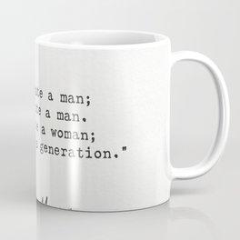 Brigham Young quote Coffee Mug