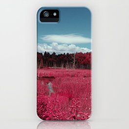 Infrared  by Jean-François Dupuis iPhone Case