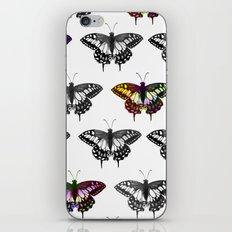 Butterflies 2 iPhone & iPod Skin