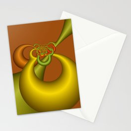 fractal geometry -151- Stationery Cards