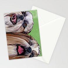 Shih Tzu Dog Art Stationery Cards
