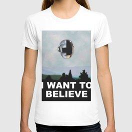 Daft Punk - I Want To Believe 2017 T-shirt