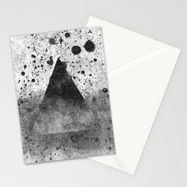 Triangle Composition III Stationery Cards