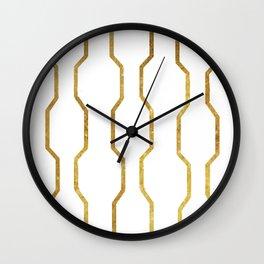 Gold Chain Wall Clock