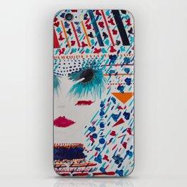 gypsy of stars iPhone Skin