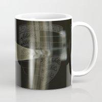 porsche Mugs featuring Porsche 356 by Regina Hoer