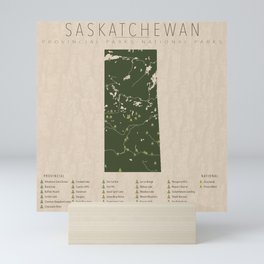 Saskatchewan Parks Mini Art Print