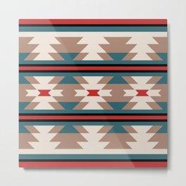 Southwestern Pattern 124 Metal Print