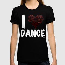 I Heart Dance(white) T-shirt