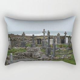 Aran Islands Celtic crosses Rectangular Pillow