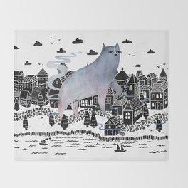 The Fog Throw Blanket
