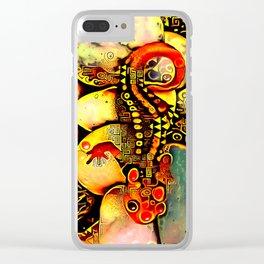 Salamander Dreams Clear iPhone Case