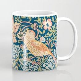 The strawberry thieves pattern by William Morris. British textile art. Coffee Mug