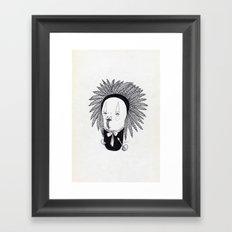 Apache Senior Framed Art Print