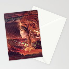 Shadow of a Thousand Lives - Visionary - Manafold Art Stationery Cards