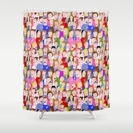 You're invited Shower Curtain