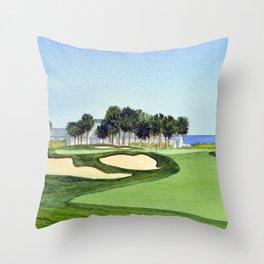 The Dunes Golf Club Myrtle Beach South Carolina Throw Pillow