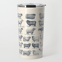 Types of Sheep Travel Mug