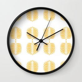 TROPICAL PALMS . CANTALOUPE Wall Clock