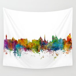 Victoria Canada Skyline Wall Tapestry
