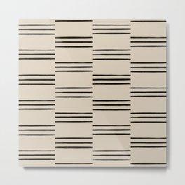 stripes offset Metal Print