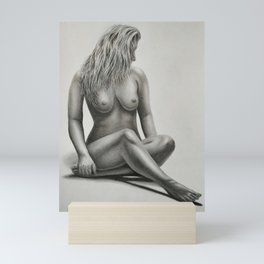 Nude№364 Mini Art Print