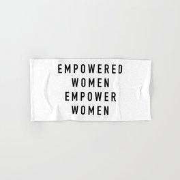 Empowered Women Hand & Bath Towel