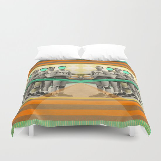 Eight years of basketball Duvet Cover