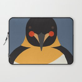Emperor Penguin, Animal Portrait Laptop Sleeve