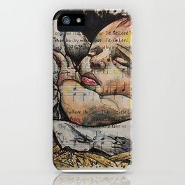 Away in a Manager iPhone Case