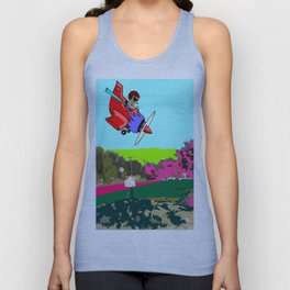 Sky Wildman Returns Unisex Tank Top