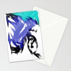 orgasmic girl  Stationery Cards