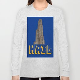 Hail Pittsburgh Print Long Sleeve T-shirt