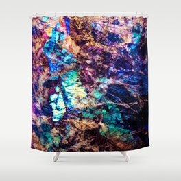 Labradorite. Shower Curtain