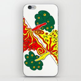 Rooted caress iPhone Skin