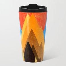 Golden Mountains Travel Mug