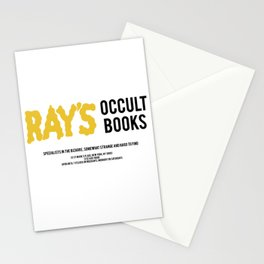 Ray's Occult Books Ghostbusters tribute Stationery Cards