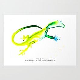 Zugs' Monitor Art Print