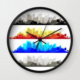 City Edge Wall Clock