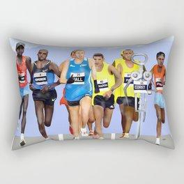 Corky in a Marathon Rectangular Pillow