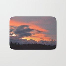 Beautiful Sunset Sky Bath Mat