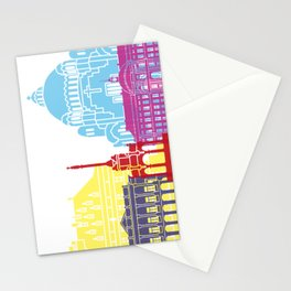 Liege skyline pop Stationery Cards